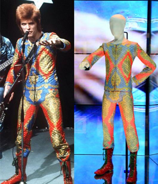 David Bowie Victoria & Albert Exhibition 2013 Costumes - StyleChi