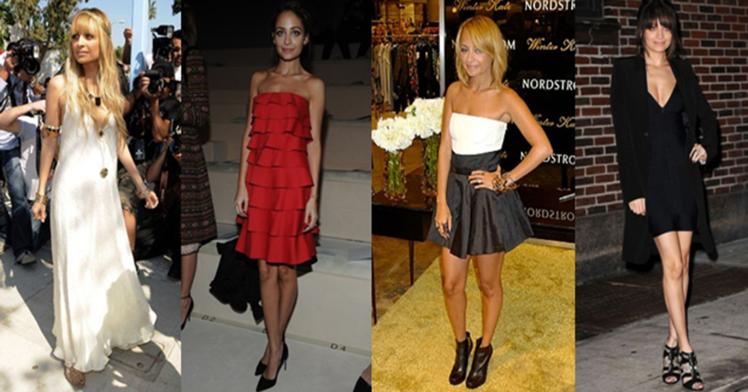 Nicole Richie Dressed Up Looks StyleChi