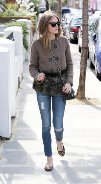 Olivia Palermo Wearing Leah Butterfly Twists - StyleChi