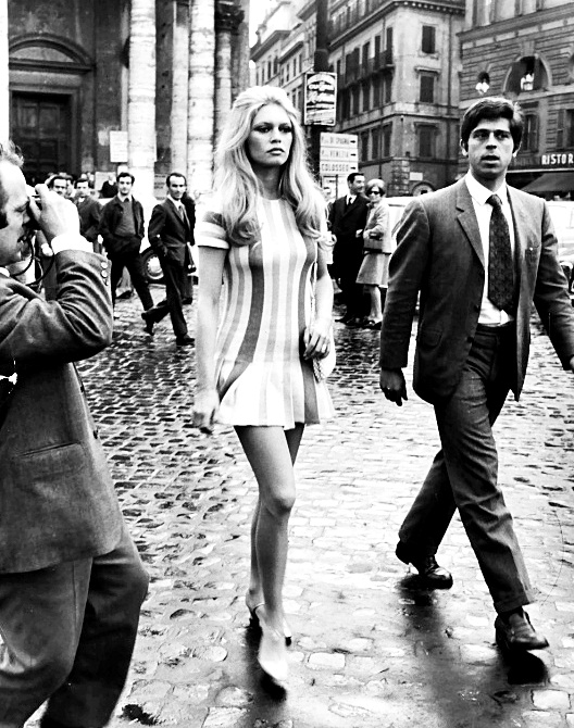 Brigitte Bardot Attitude Mini Dress StyleChi Fashion Crush