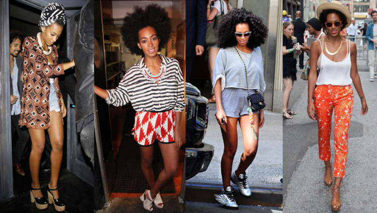 Solange Knowles Casual Looks - StyleChi