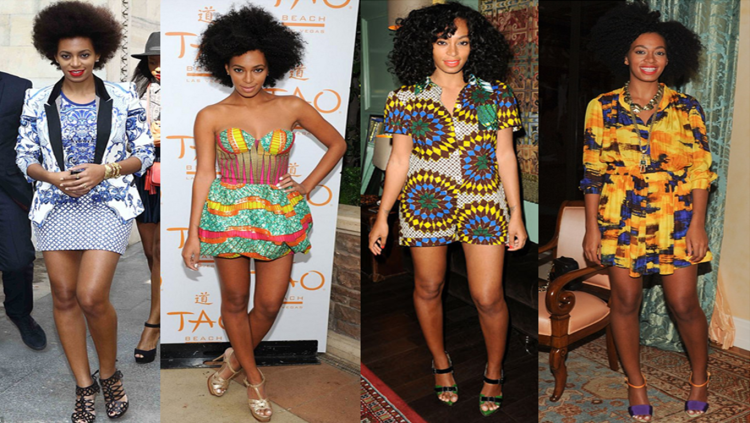 Solange Knowles Short Styles StyleChi