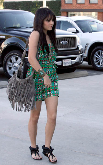 Vanessa Hudgens Fringe Bag StyleChi