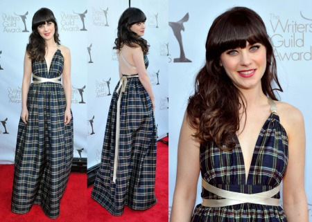 Zooey Favourite Look Red Carpet