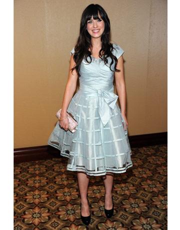 Zooey Ruffle Light Blue Dress