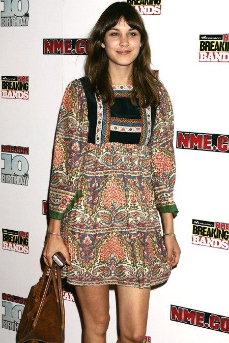 Alexa Chung Bohemian Dress StyleChi