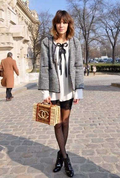 Alexa Chung Chanel Bag StyleChi