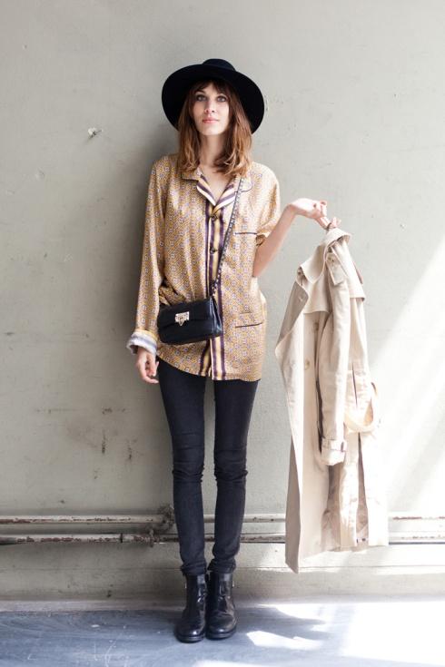 Alexa Chung Hat StyleChi