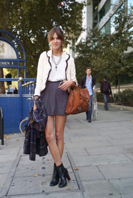 Alexa Chung Leggy StyleChi