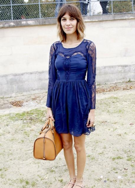 Alexa Chung Paris Fashion Week StyleChi