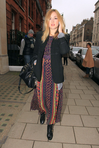 Fearne Cotton Bohemian Maxi Dress StyleChi