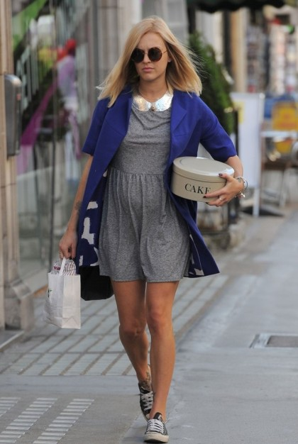 Fearne Cotton Embellished Collar Converse Mini Dress StyleChi