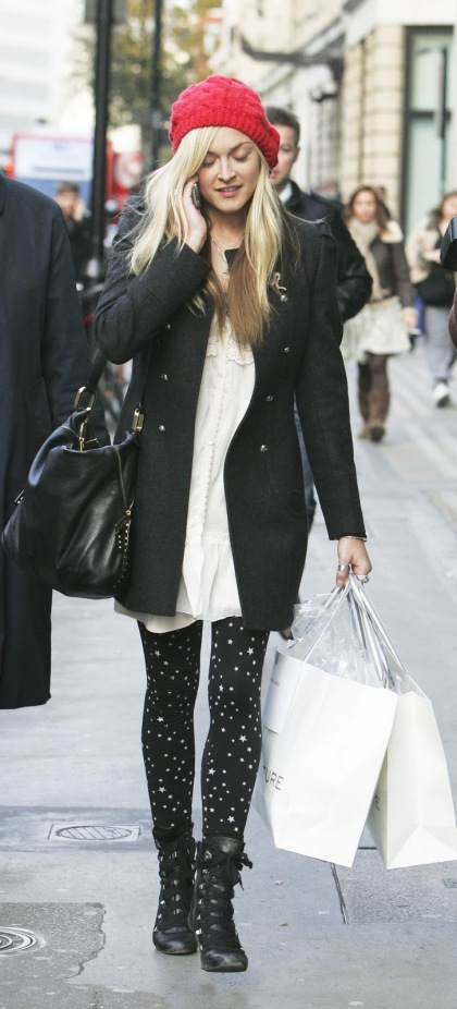 Fearne Cotton Military Coat StyleChi
