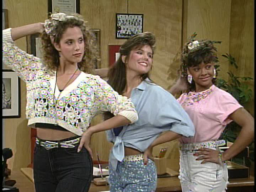 90s Fashion Saved By The Bell