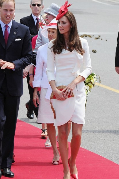 Catherine Middleton White Dress StyleChi