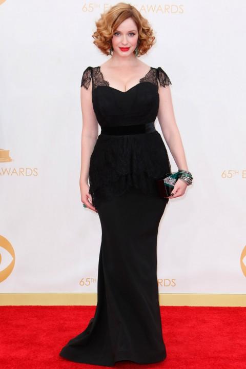 Emmy awards 2013 StyleChi christina-hendricks