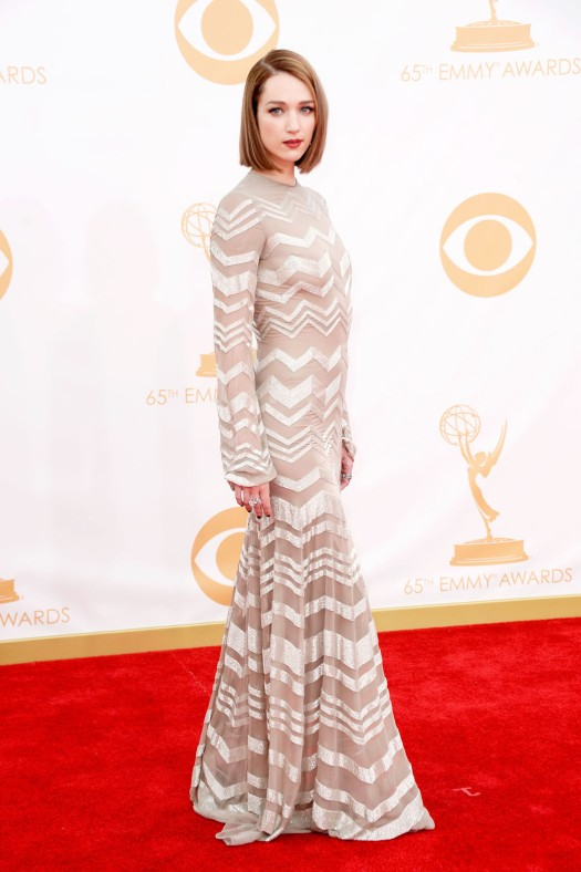 Emmy awards 2013 StyleChi Kristen Connolly