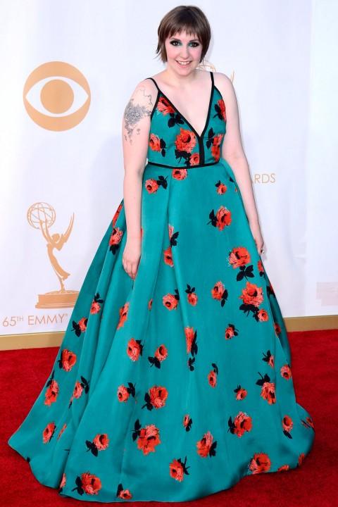 Emmy awards 2013 StyleChi lena-dunham