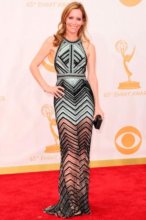 Emmy awards 2013 StyleChi leslie-mann