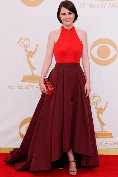 Emmy awards 2013 StyleChi michelle-dockery