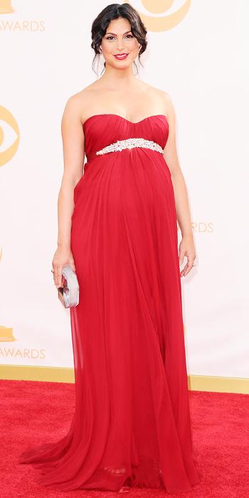 Emmy awards 2013 StyleChi morena-baccarin