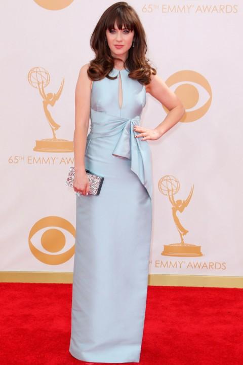 Emmy awards 2013 StyleChi zooey-deschanel