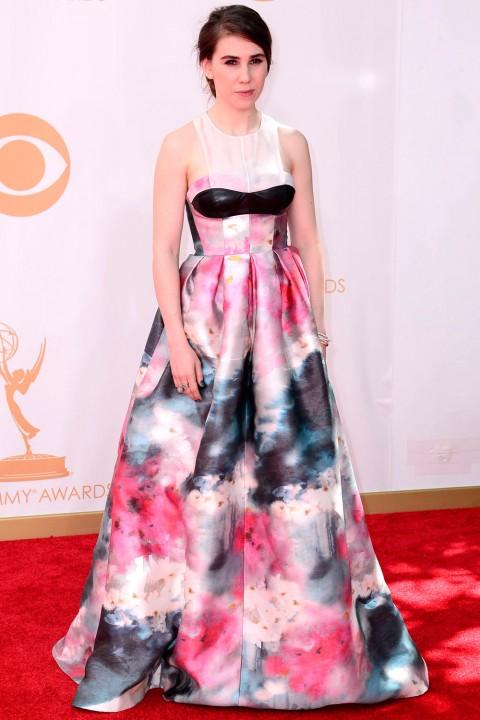 Emmy awards 2013 StyleChi zosia-mamet