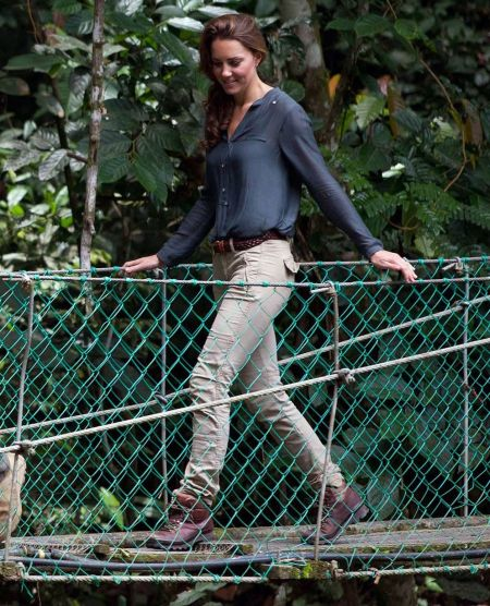 Kate Middleton Danum Valley Rainforest StyleChi