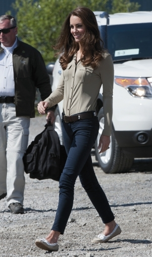 Kate Middleton J Brand Jeans