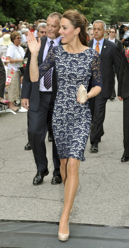 Kate Middleton Lace Dress StyleChi