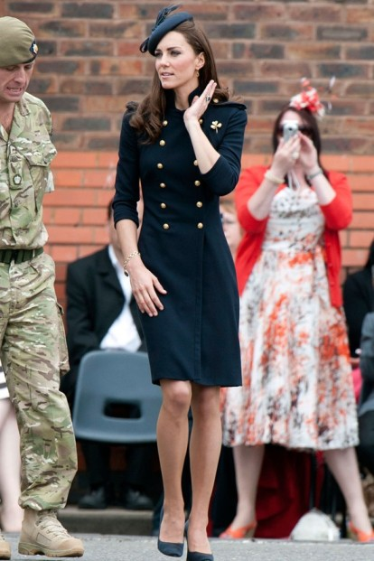 Kate Middleton Military Style StyleChi