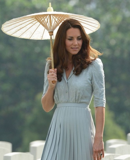 Kate Middleton Pleats StyleChi