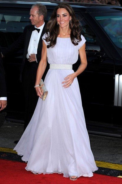 Kate Middleton White Gown StyleChi
