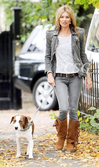Kate-moss Fringe-boots StyleChi