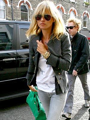 Kate Moss  ilitary Jacket StyleChi