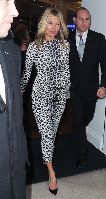Kate Moss Leopard Dress StyleChi