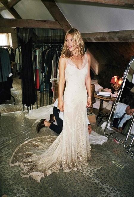 Kate Moss Wedding Dress StyleChi