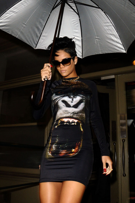 Rihanna Gorilla Dress