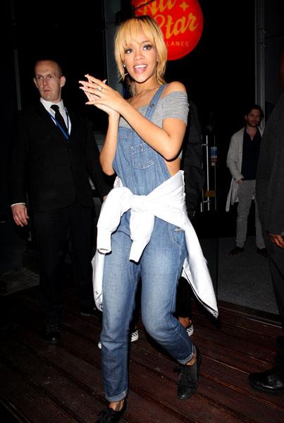 Rihanna Overalls StyleChi