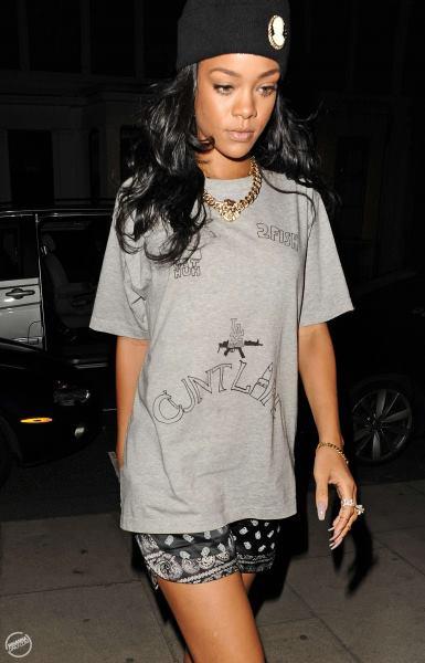 Rihanna Thug StyleChi