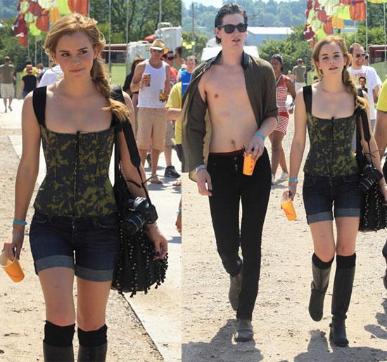 Emma Watson Glastonbury Festival Style StyleChi
