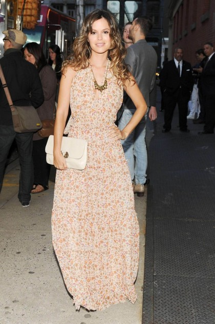 Rachel Bilson StyleChi Floral Maxi Dress