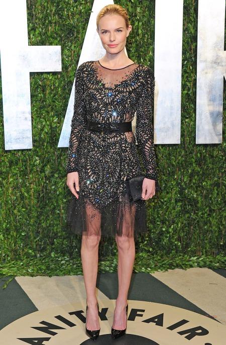 Kate Bosworth StyleChi Embellished Mesh Dress