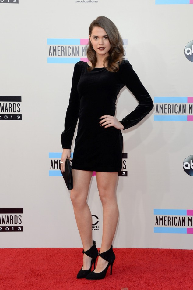 Maia-Mitchell-in-Armani-2013-American-Music-Awards-AMAs