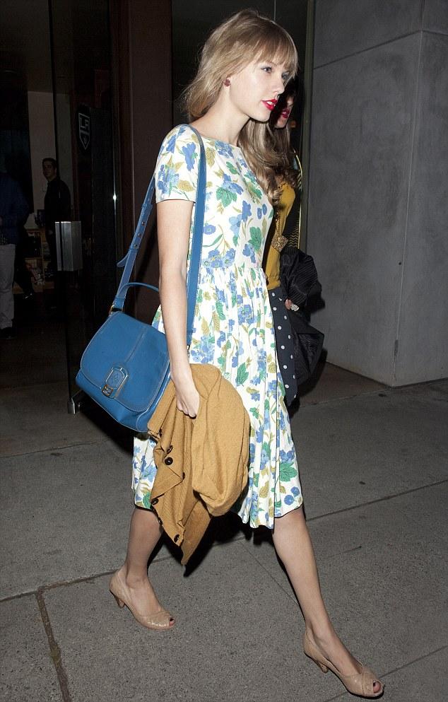 Taylor Swift Knee Length Dress