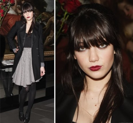 Daisy Lowe StyleChi High Waist Black White Check Skirt Long Suit Jacket Heeled Derby SHoes