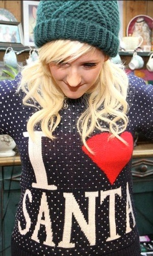 Ellie Goulding StyleChi Christmas Sweater