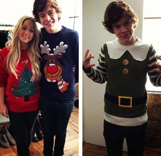 Harry Styles StyleChi Christmas Sweaters