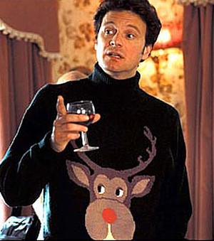 Marc Darcy Colin Firth Christmas Jumper StyleChi 2