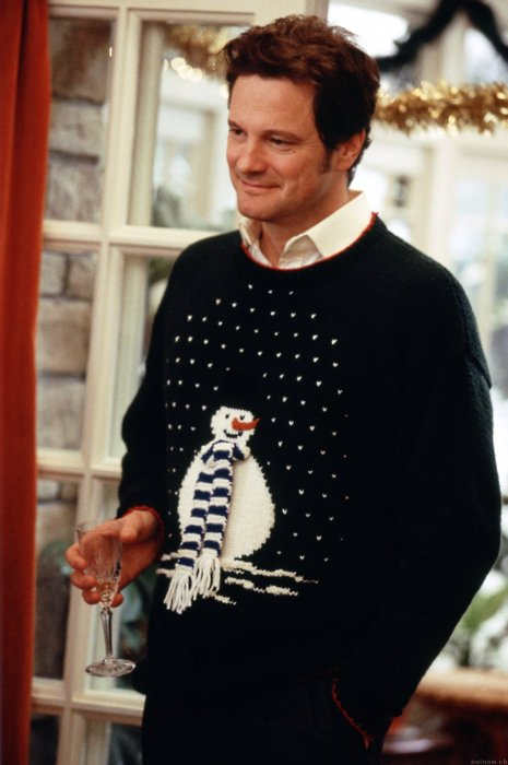 Marc Darcy Colin Firth Christmas Jumper StyleChi